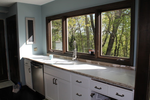 kitchen renovation process, construction2style on @Remodelaholic