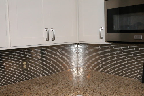 stainless steel backsplash, construction2style on @Remodelaholic