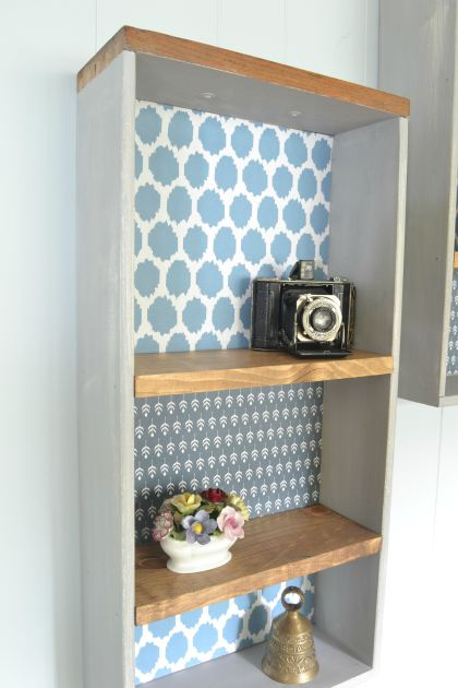 upcycle old drawers into chic wall shelves Refresh Living
