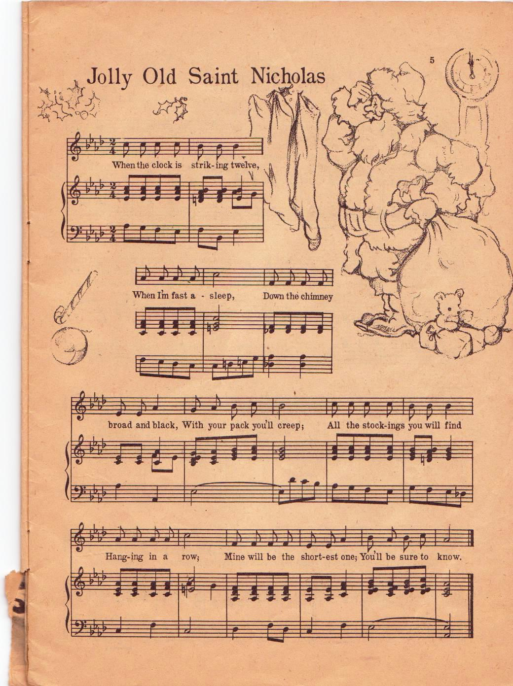 photograph relating to Vintage Sheet Music Printable identify totally free printable typical xmas sheet audio - Kadil