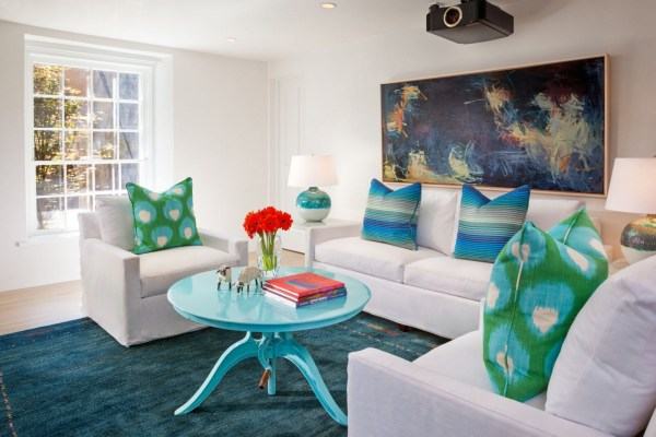 colorful modernized Southwest home by Violante & Rochford Interiors, photo credit © Wendy McEahern