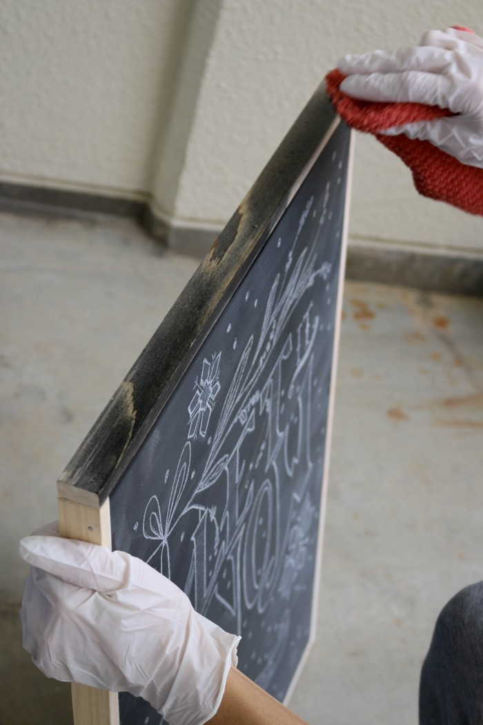 how to create chalkboard art