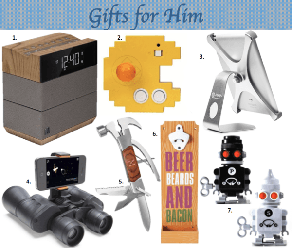 Creative and unique gifts for the man in your life