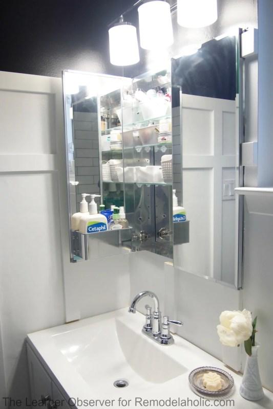 The Learner Observer for Remodelaholic.com - Built-in medicine cabinet