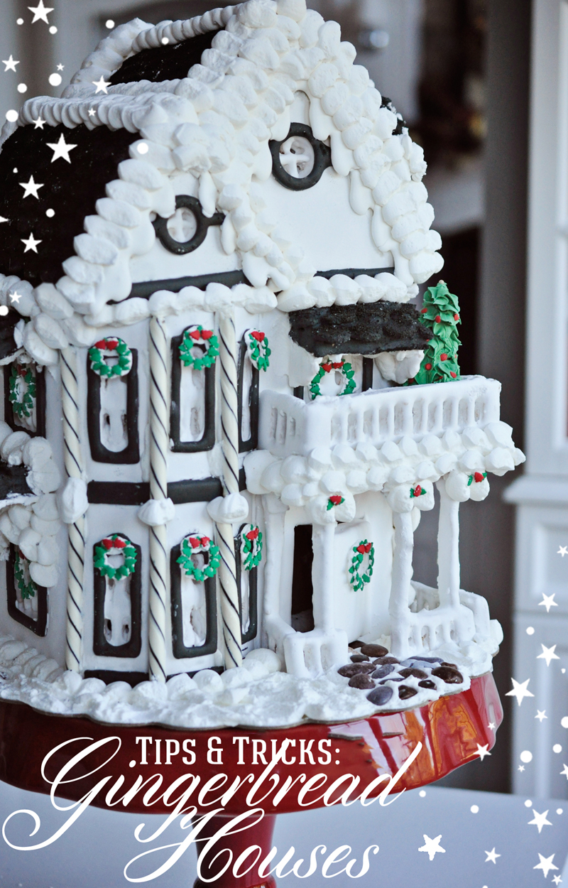Tips And Tricks For Beautiful Gingerbread Houses