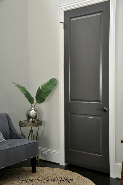 Using one paint undertone throughout a whole home. Remodelaholic