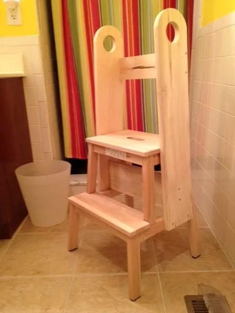 Ordinaire Bekvam Stool Hack, Safe Stool Toddler Bathroom