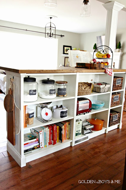 Billy Bookcases Turned Kitchen Island Ikea Hack