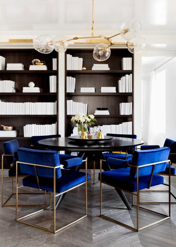 dining room designed by Tamara Magel