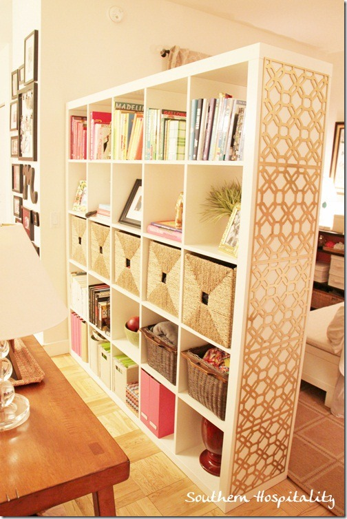 Remodelaholic 29 Creative DIY Room Dividers For Open
