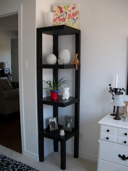 lack side table hack corner shelf
