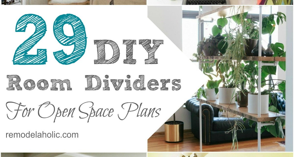 29 Creative DIY Room Dividers For Open Space Plans