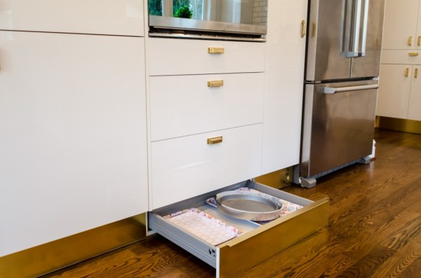 toe-kick drawers ikea kitchen hack