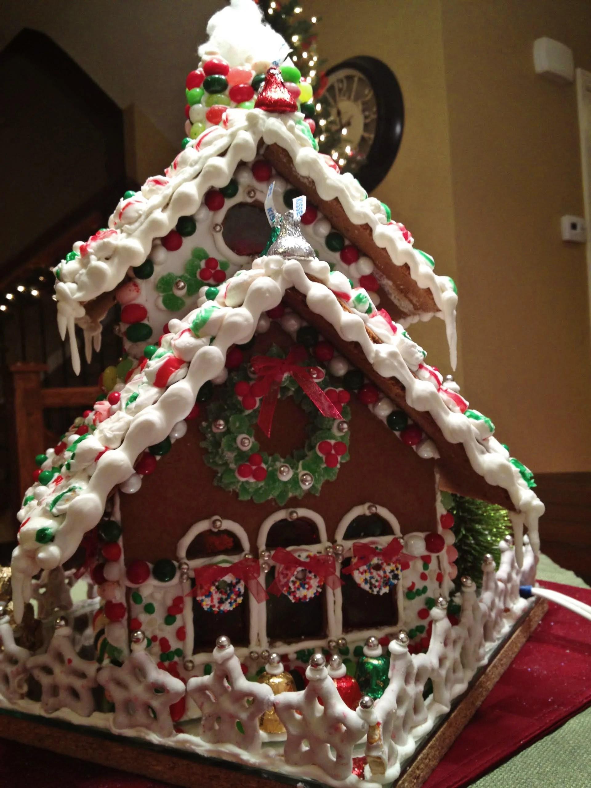 Remodelaholic  Gingerbread Houses Tips  Tricks