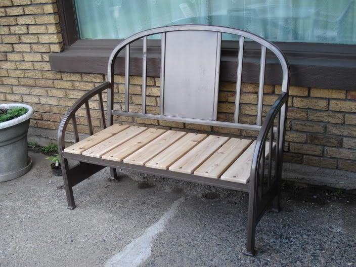 25 DIY Headboard Benches via remodelaholic.com #diy #benches #headboard #headboards #headboardbench #headboardbenches