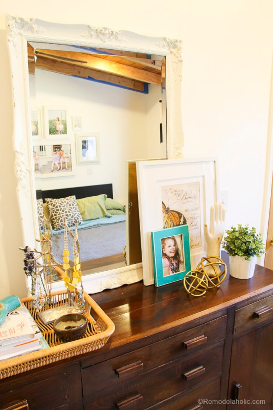 Decorating a dresser with school od decorating @remodelaholic (20 of 21)