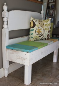 Remodelaholic | 25 Headboard Benches + How to Make Your Own