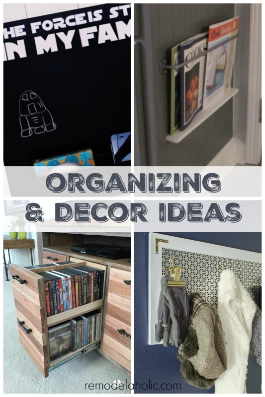 Organizing and Decor Ideas to Try This Year @Remodelaholic