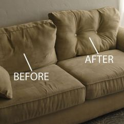 How To Fix Sofa Back Cushions Condo Bed Toronto Remodelaholic | 28 Ways Bring New Life An Old