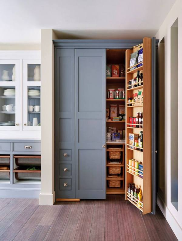 amazing built-in pantry Mylands via Houzz