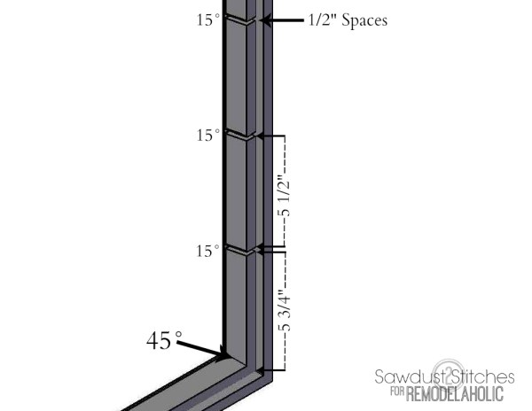 -chalkboard organizer sawdust2stitches for remodelaholic.com