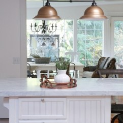 Kitchen Island Light Fixture Top Of The Line Appliances Remodelaholic | Mini-makeover With Affordable ...