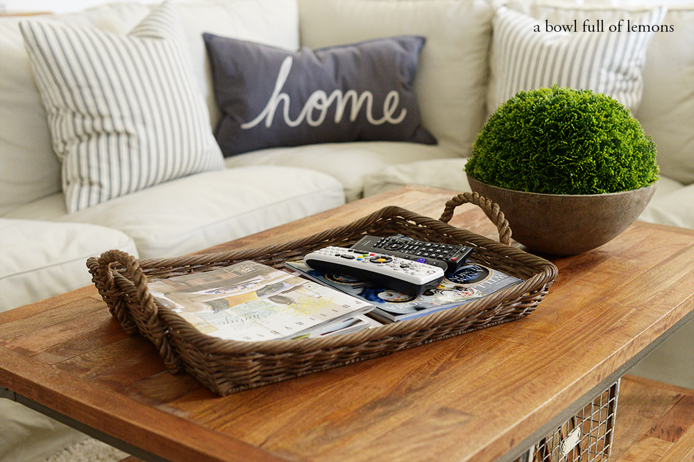 Small Ottoman Coffee Table Trays