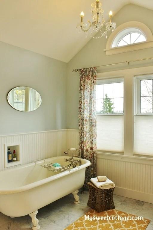 Remodelaholic  Gorgeous 1920s Cottage Master Bathroom