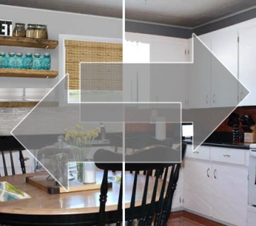 Real Life Rooms: Easy Budget-Friendly Ways to Update a Kitchen