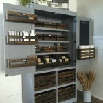 Free standing pantry open by sawdust2stitches