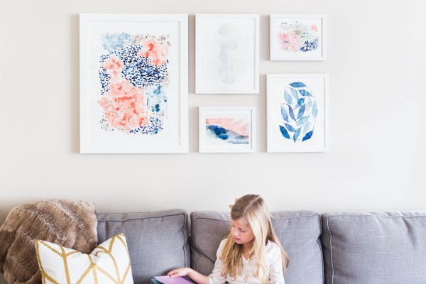 How To Bring The Color Of The Year Into Your Home With Minted Art (3)