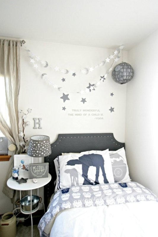 Star Wars Themed Nursery via Apartment Therapy