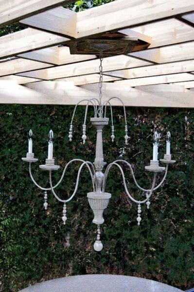 diy chandelier odd bits and ends