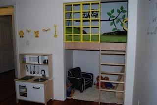 diy closet loft bed kids 2