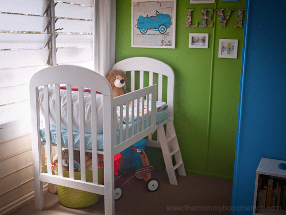 diy toddler loft bed from old crib kids