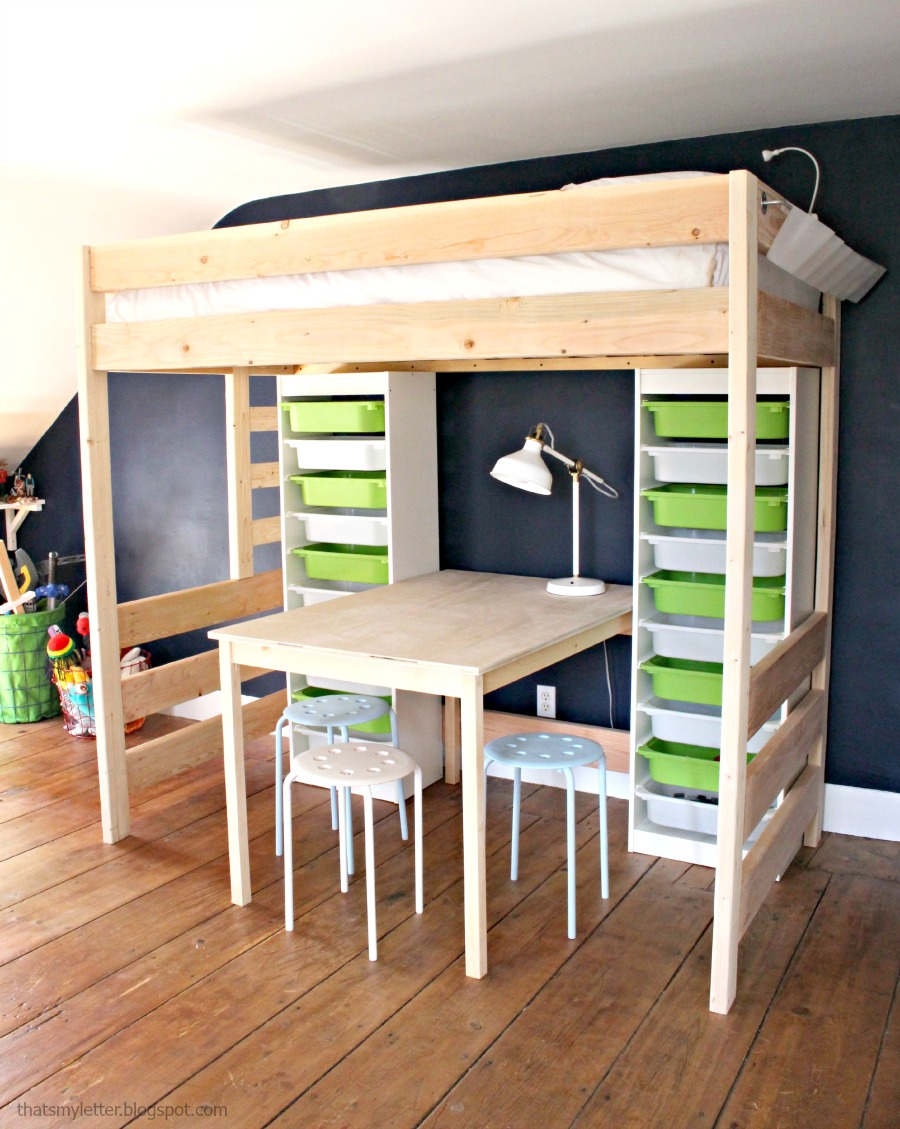 Remodelaholic | 15 Amazing DIY Loft Beds for Kids