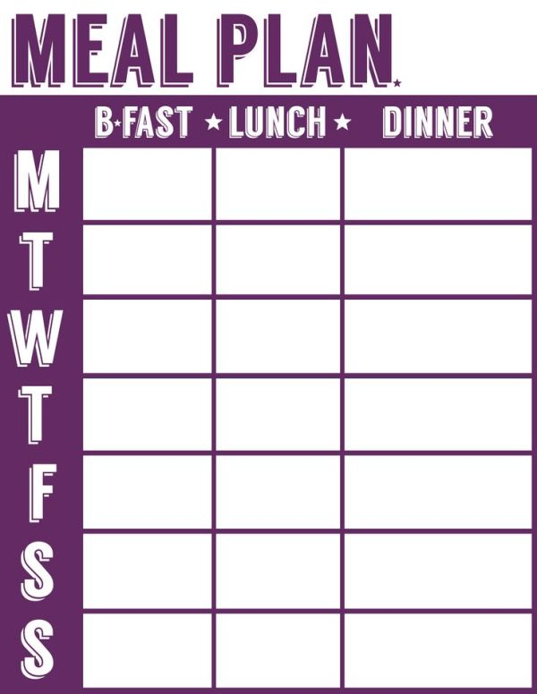 meal planner plus shopping list, freezer and pantry inventory sheets Frugality Gal