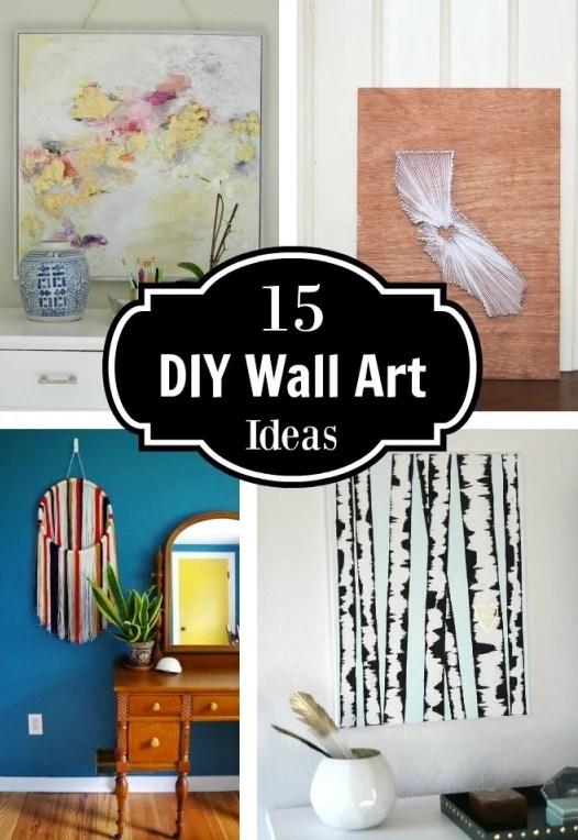 15 DIY Wall Art