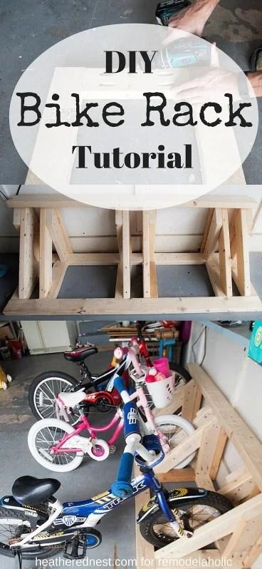 Build a DIY Bike Rack Tutorial