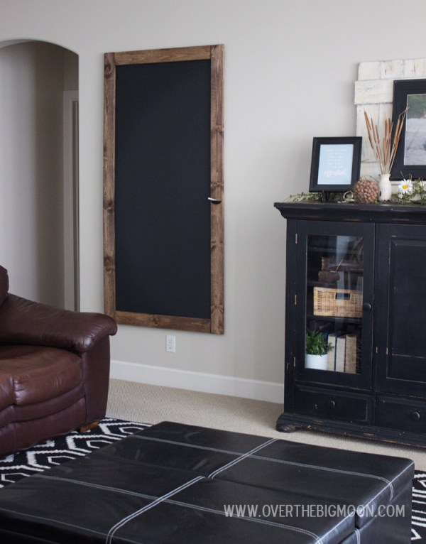Build a huge chalkboard