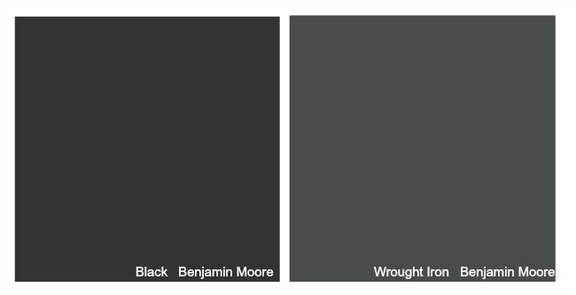 Benjamin Moore Wrought Iron Door Paint