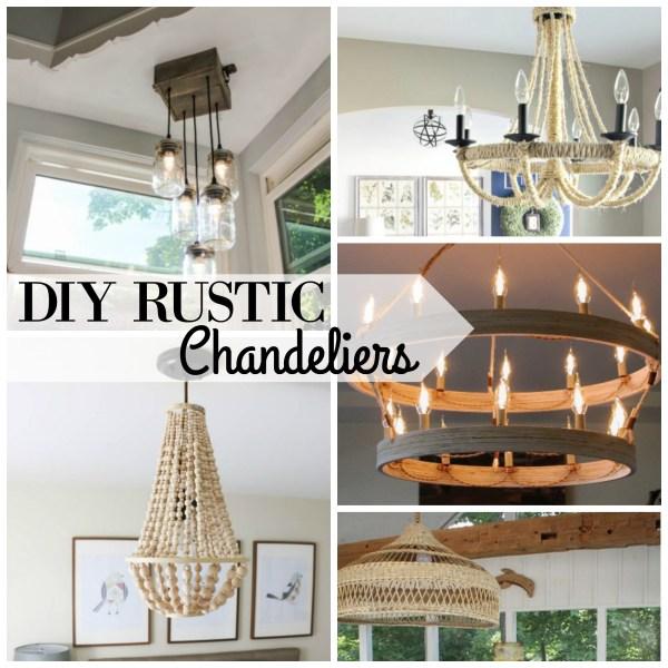 diy rustic chandeliers. DIY Rustic Chandeliers Via Remodelaholic Com  25 Gorgeous