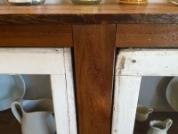 Remodelaholic | How to Build a Buffet from Old Windows and ...