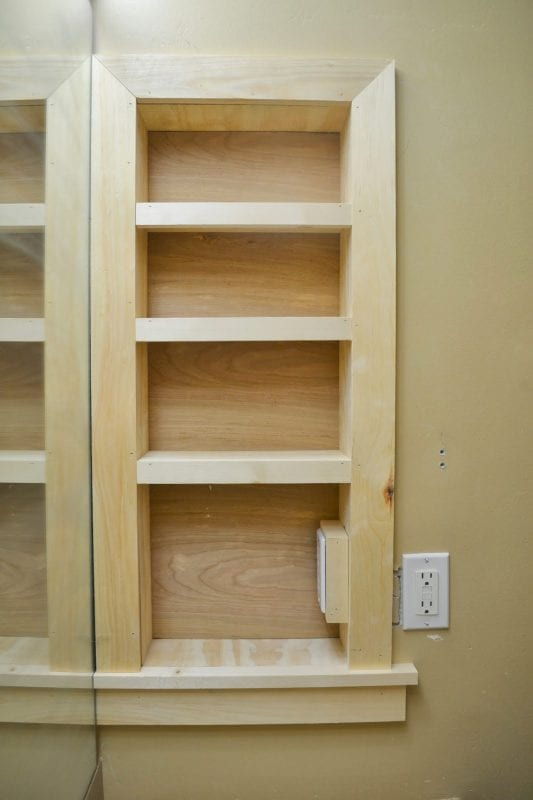 Remodelaholic  25 Brilliant InWall Storage Ideas For