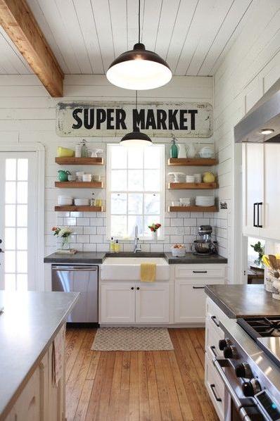 Farmhouse Kitchen Inspiration