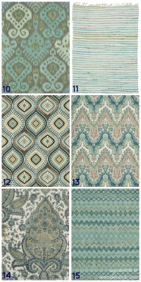 Remodelaholic   20+ Green and Blue Area Rugs You'll Love
