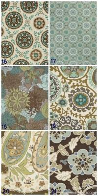 Blue Green Brown Rug - Rugs Ideas