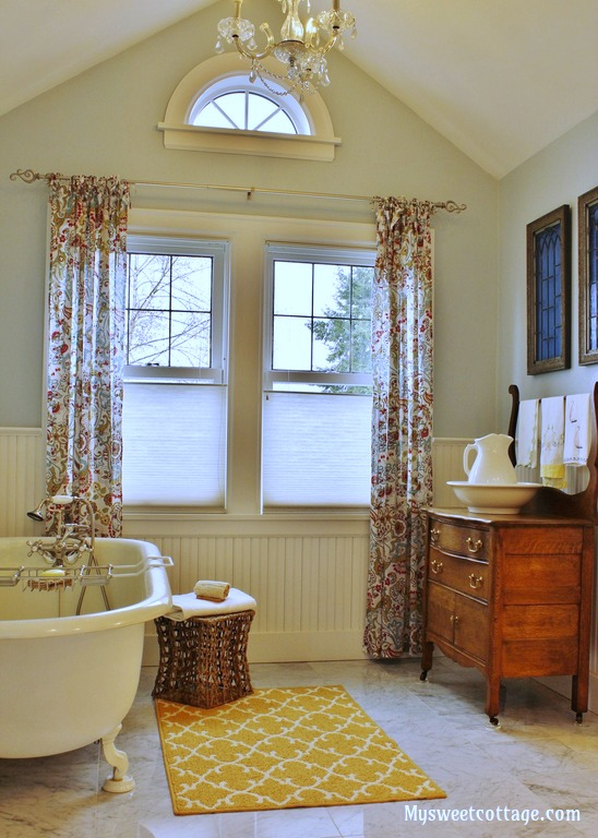 Gorgeous 1920's Cottage Master Bathroom Addition