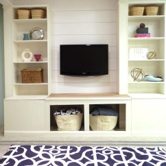 Diy Shelves In Living Room Wall Unit Remodelaholic 15 Built Shelving Ideas