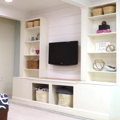 Cheap Wall Units For Living Room Cupboard Designs Remodelaholic | Diy Built-in Media Unit With Extra ...